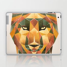 Geometric Wolf Laptop & iPad Skin