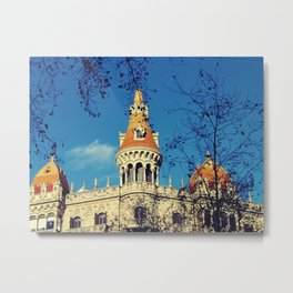 Barcelona, casa Rocamora Metal Print
