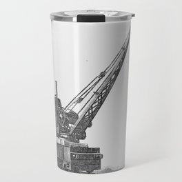 Railroad crane Travel Mug