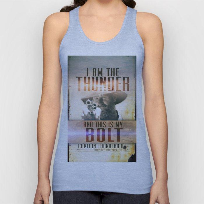 Thunderbolt Movie-I Am The Thunder Version 2 Unisex Tank Top