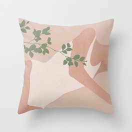 Peacefully Resting Throw Pillow