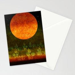 """Green Lemon & Golden Night Dream"" Stationery Cards"