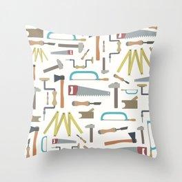 Carpenter world Throw Pillow