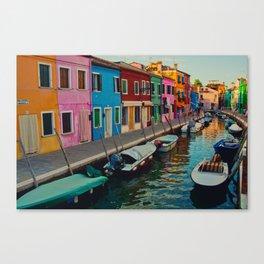 Burano Island II Canvas Print