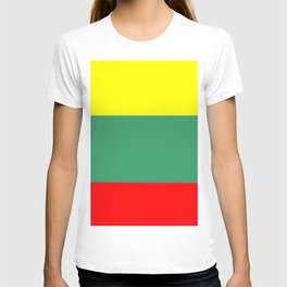 Flag of Lithuania – Lietuva,Lithuanian,Lietuvos,vilnius,kaunas,baltic,viking. T-shirt