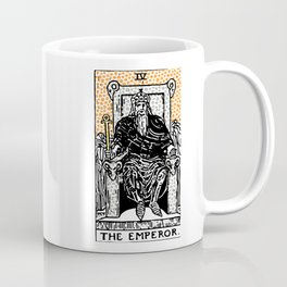 Modern Tarot Design - 4 The Emperor Coffee Mug