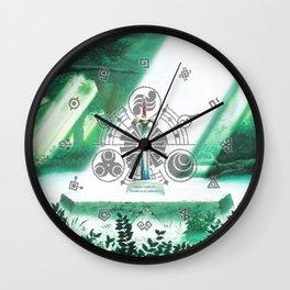 Zelda Sword Shine Wall Clock