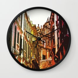 the little Macau from the LOVE ROAD Wall Clock