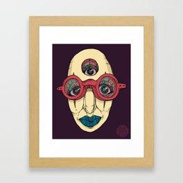 SEEK DEEP WITHIN Framed Art Print