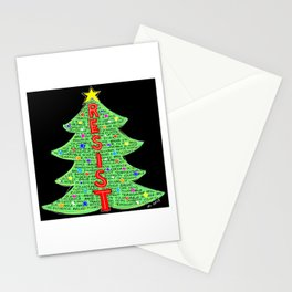CDC Resist Tree Stationery Cards