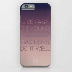 Live Fast | Typography iPhone 6s Slim Case