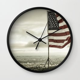 American City Wall Clock