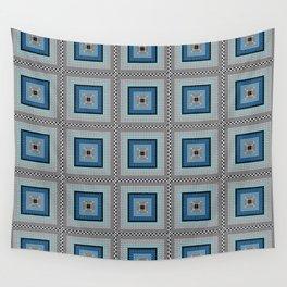 Circle Square Wall Tapestry