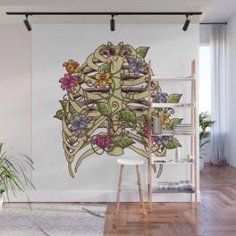 Rib Bloom Wall Mural