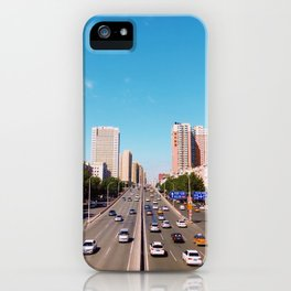 The City Streets (Color) iPhone Case