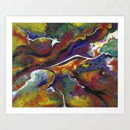 Cosmosous Art Print