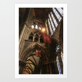 Glasgow Cathedral III Art Print