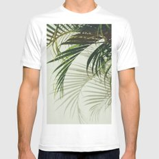 VV II MEDIUM White Mens Fitted Tee