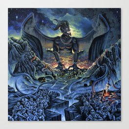 Typhon Monster Canvas Print
