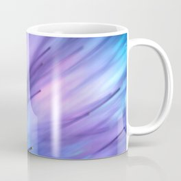 Fiber Optics Magenta Tint Coffee Mug