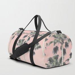 Blush Palms Duffle Bag