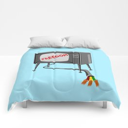 Freedom Television Comforters