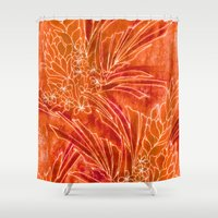 spice Shower Curtains featuring Spice Island by Vikki Salmela