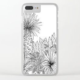 Outside III Clear iPhone Case