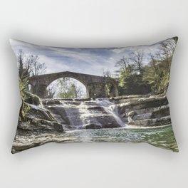 Cascate Della Brusia, Italy Rectangular Pillow