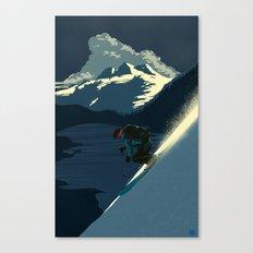 Revelstoke skiing Canvas Print