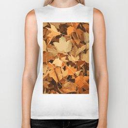 Autumn Whispers Biker Tank