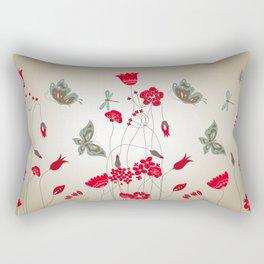 Tatemae Japanese Ochre Rectangular Pillow