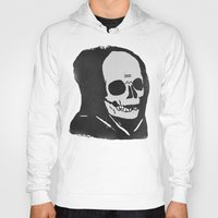 chill Hoodies featuring chill death by Alex DeSpain