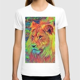 AnimalColor_Lion_004_by_JAMColors T-shirt