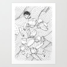23 Pieces Art Print