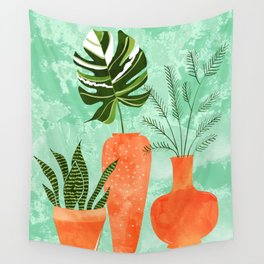 Water My Plants #painting #illustration Wall Tapestry