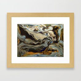 At peace with everything Framed Art Print