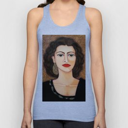 Amalia Rodrigues – Music born in the soul Unisex Tank Top