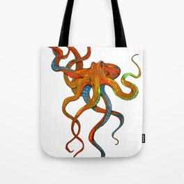 Octopus in Color Tote Bag