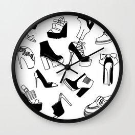 Shoe Cravings Wall Clock
