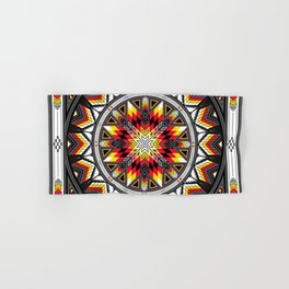 Sacred Places Red Hand & Bath Towel