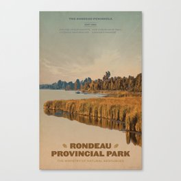 Rondeau Provincial Park Canvas Print