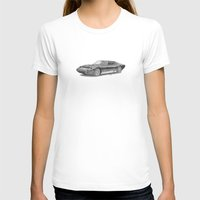 lamborghini T-shirts featuring Lamborghini Miura P400 by Gábor Vida
