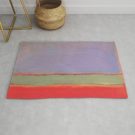 1951 No 6 Violet Green and Red by Mark Rothko HD Rug