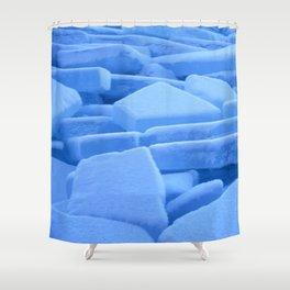 Ice floe Shower Curtain