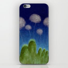 Hills and Clouds iPhone Skin