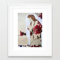 bond Framed Art Prints featuring Bond by Suzanna Schlemm
