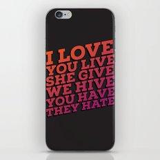 The sad truth iPhone & iPod Skin