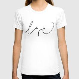 LOVE NO3 T-shirt