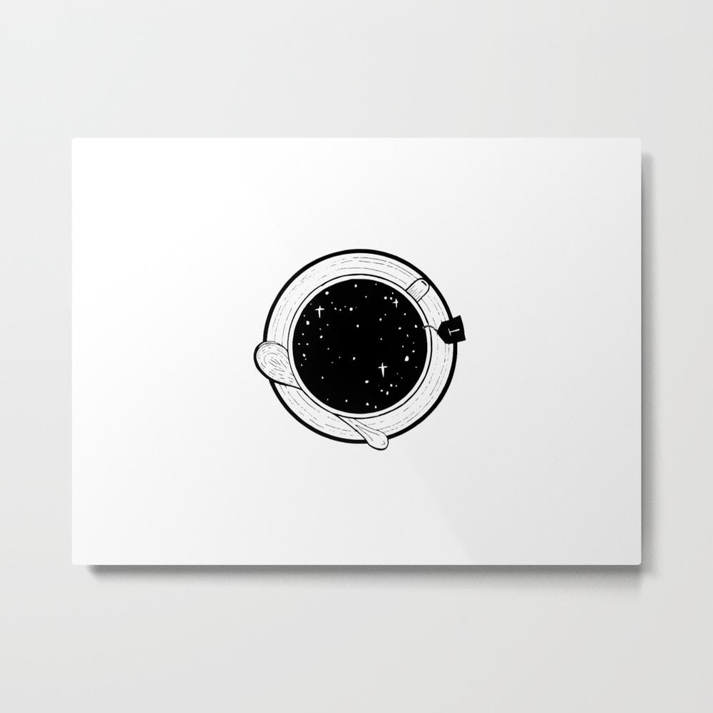 Storm In A Tea Cup Metal Print by Bukxa MTP8751401